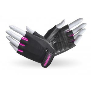 MADMAX Fitness rukavice Rainbow Pink  L