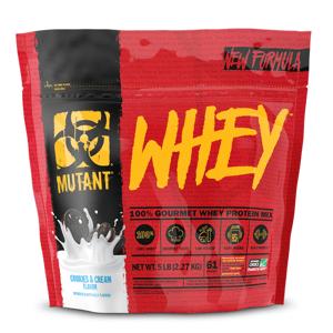 PVL Mutant Whey 4540 g jahodový krém