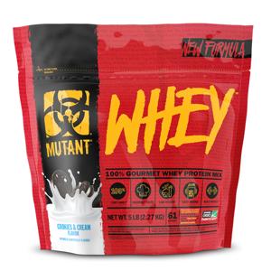 PVL Mutant Whey 2270 g jahodový krém