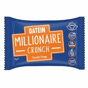 Oatein Proteínová tyčinka Millionaire Crunch 58 g pomaranč v horkej čokoláde