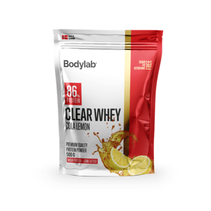 Bodylab Clear Whey 500 g cola lemon