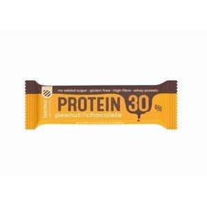 Bombus Proteínová tyčinka Protein 30% 50 g čokoláda arašidy