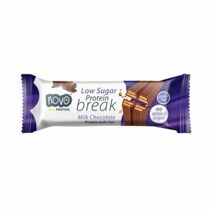 Novo Nutrition Protein break bar 21,5 g mliečna čokoláda