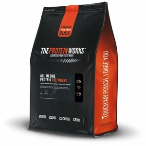 TPW All In One Protein The Works 2000 g jahodový krém