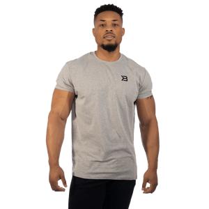 Better Bodies Essential Tee Grey Melange  XL