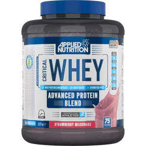 Applied Nutrition Critical Whey 900 g jahodový milkshake
