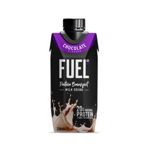 FUEL10K Raňajkový proteínový nápoj 330 ml jahoda