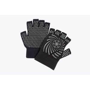 Gaiam Rukavice na jogu Grippy Yoga Gloves Black