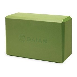 GAIAM Kocka na jogu Yoga Block Green