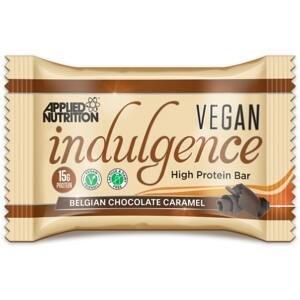 Applied Nutrition Vegan Indulgence Bar 50 g belgická čokoláda karamel