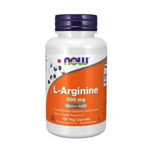 NOW Foods L-Arginín 100 kaps.
