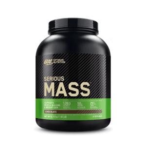 Optimum Nutrition Serious Mass 5450 g jahoda