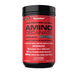 MuscleMeds Amino Decanate 378 g ovocný punč
