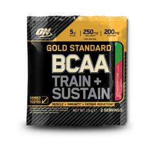Optimum Nutrition Vzroka Gold Standard BCAA Train Sustain 19 g jahoda kiwi