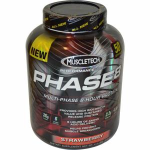 MuscleTech Phase8 2100 g vanilka