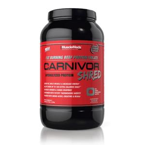 MuscleMeds Carnivor Shred 2072 g čokoláda
