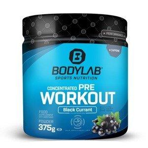 Bodylab24 Predtréningový stimulant Concentrated Pre Workout 375 g čierne ríbezle