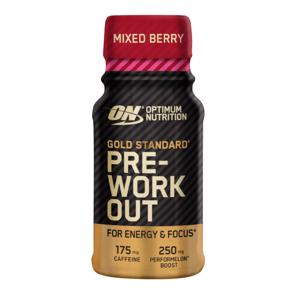 Optimum Nutrition Gold Standard Pre-Workout Shot 60 ml mix bobuľového ovocia