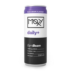 GymBeam MOXY daily+ 330 ml modré hrozno