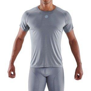 SKINS Kompresné tričko Series-3 Grey  M
