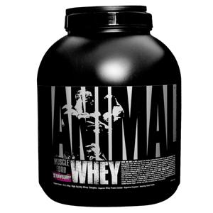 Universal Nutrition Proteín Animal Whey 2270 g jahoda