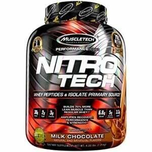 MuscleTech Nitro-Tech Performance 1800 g mliečna čokoláda