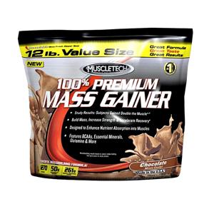 Muscletech 100% Premium Mass Gainer 5440 g čokoláda