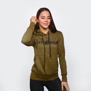GymBeam Dámska Mikina Athlete Military Green  XXL