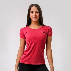 GymBeam Dámske tričko Basic Vintage Red  XXL
