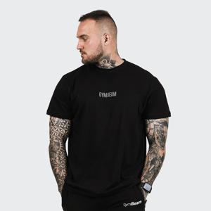 GymBeam Tričko FIT Black  XXXL
