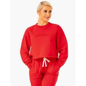 Ryderwear Dámska mikina Ultimate Fleece Red  XS