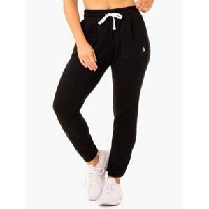 Ryderwear Dámske tepláky Ultimate High Waisted Black  XL