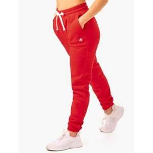 Ryderwear Dámske tepláky Ultimate High Waisted Red  XS