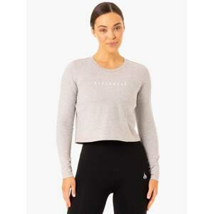 Ryderwear Dámske tričko Long Sleeve Top Foundation Grey  S
