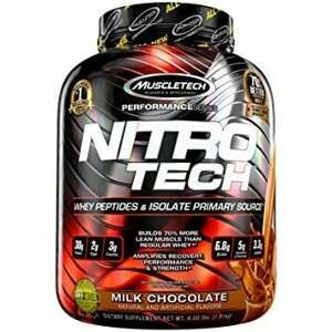 MuscleTech Nitro-Tech Performance 1800 g jahoda