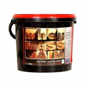 Megabol Whey Mass Gain 3000 g vanilka