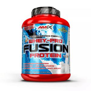 AMIX Whey Pure Fusion 2300 g jahoda
