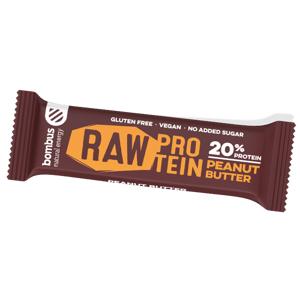 Tyčinka Bombus BOMBUS Raw protein-Peanut butter 50g
