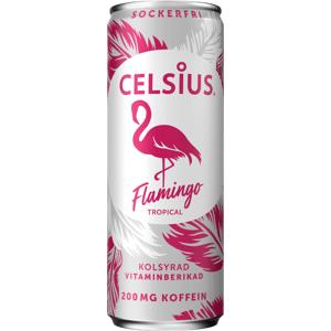 Nápoj CELSIUS Celsius 355ml Flamingo Energy drink