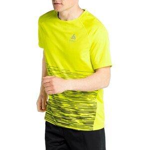 Tričko Odlo T-shirt crew neck s/s ESSENTIAL PRINT