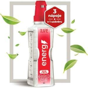Nápoj Isoline ENERGY raspberry with lime 500 ml