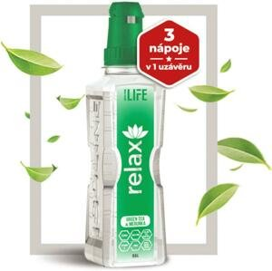 Nápoj Isoline RELAX green tea with apricot 500 ml