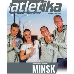 Časopis Top4Running Časopis Atletika - 2/2019