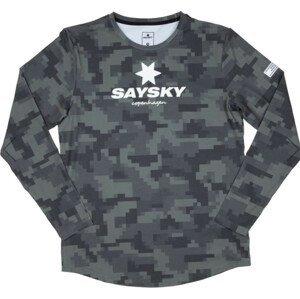 Tričko s dlhým rukávom Saysky Camo Blaze LS