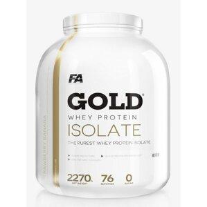 Gold Whey Isolate - Fitness Authority 2270 g Vanilka
