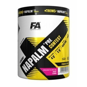 Xtreme Napalm Pre-Contest od Fitness Authority 500 g Cherry Apple
