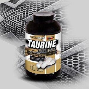 Taurine Large Caps - Vision Nutrition 100 kaps.