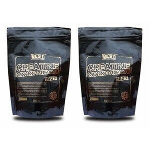 1+1 Zadarmo: Creatine Monohydrate od Best Nutrition 1,0 kg + 1,0 kg
