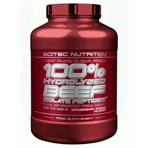 100% Hydrolyzed BEEF - Scitec Nutrition 1800 g Mandle+Čokoláda
