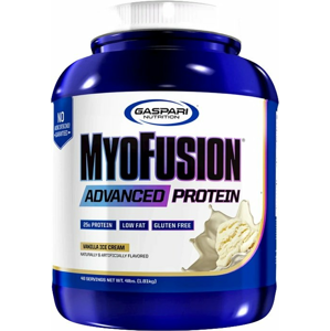 MyoFusion Advanced Protein - Gaspari Nutrition 500 g Strawberries and Cream